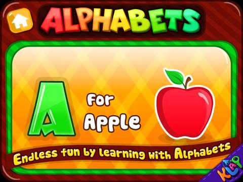 Alphabets Teacher - A to Z HD Lite screenshot 7