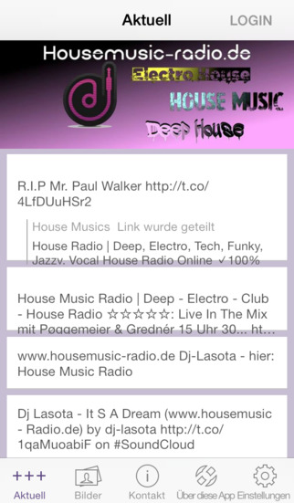 House Music Radio screenshot 1