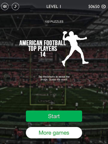 American Football Top Players 2014 Quiz Game - Guess The Pro Football Stars (NFL edition) screenshot 10