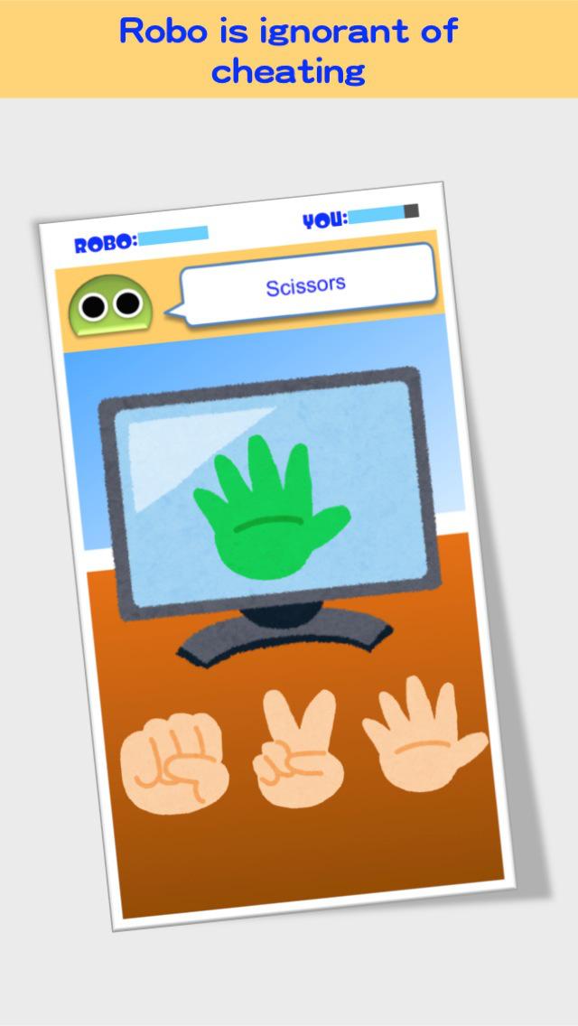 Cheating Rock-Paper-Scissors screenshot 3