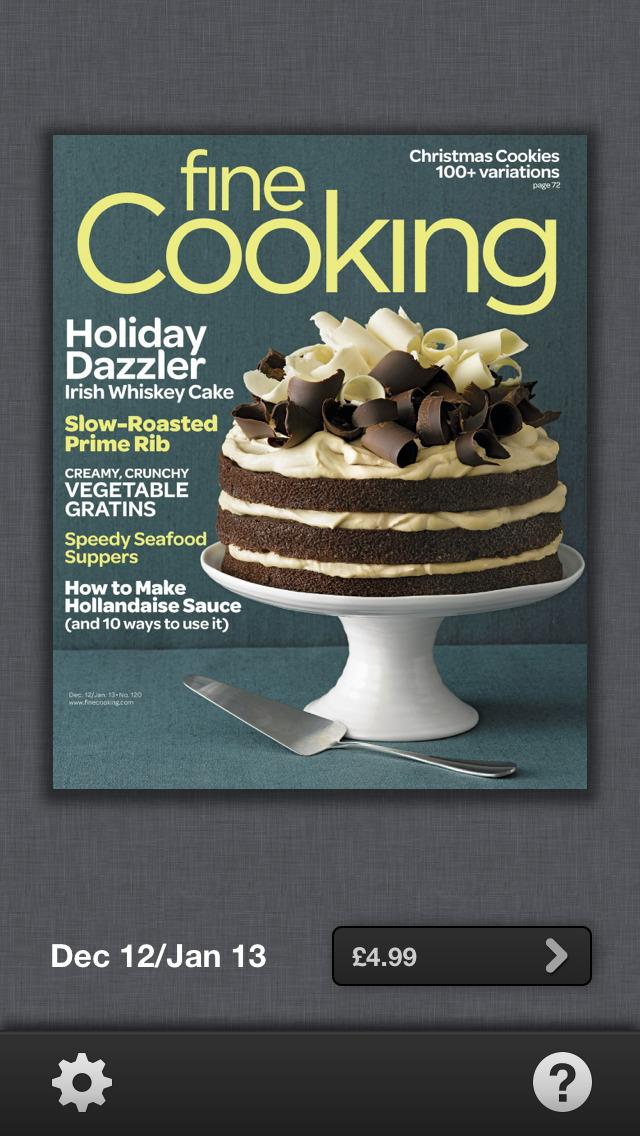 Fine Cooking Magazine screenshot 1