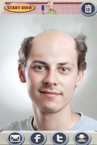 BaldFaced - The Bald Head Face Booth - náhled