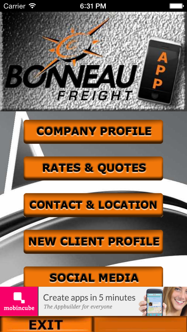 BONNEAU FREIGHT screenshot 2
