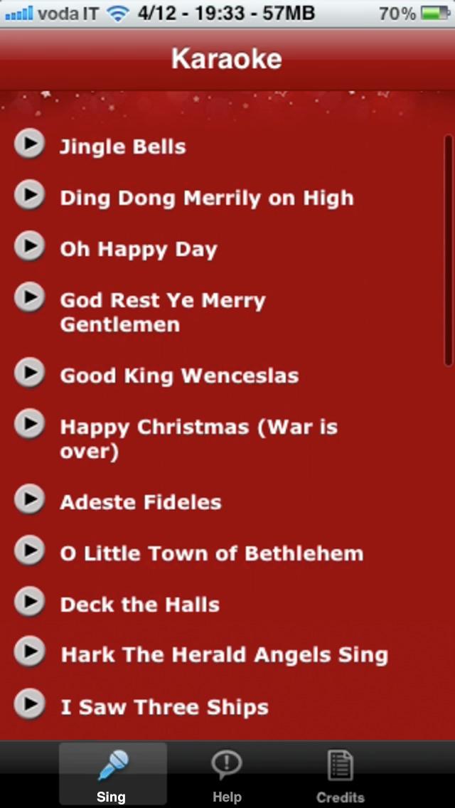 Christmas Karaoke: Christmas Carols and Christmas Songs screenshot 2