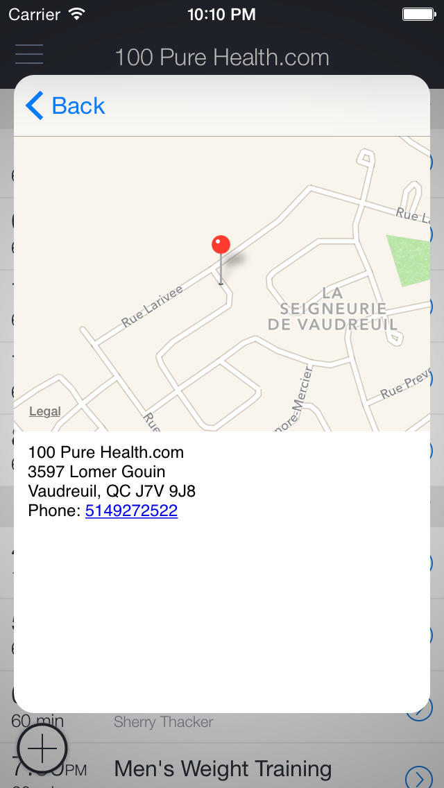 100 Pure Health screenshot 3
