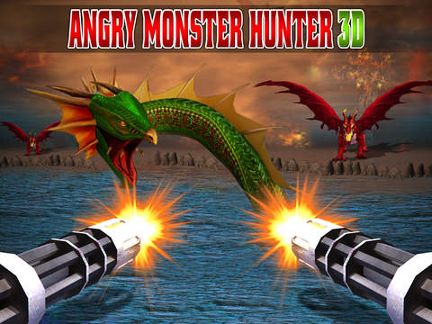 Angry Monster Hunter 3D screenshot 6