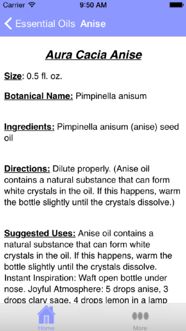 Aura Cacia Essential Oils screenshot 4
