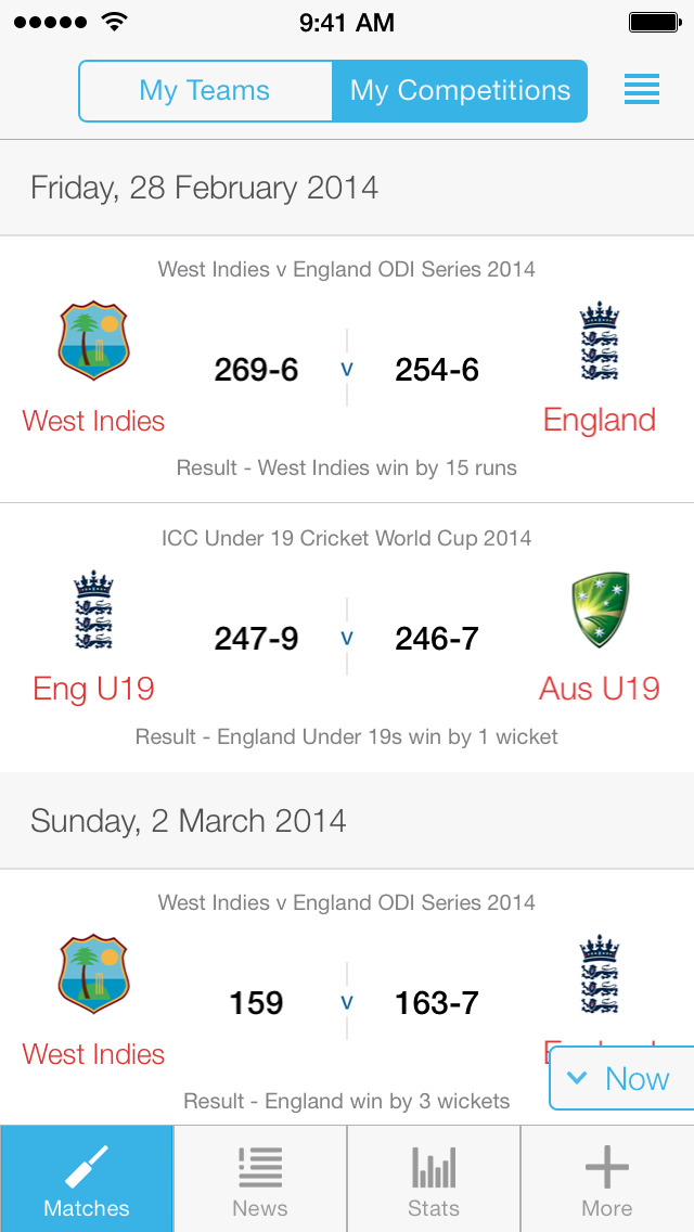 ECB Cricket screenshot #2