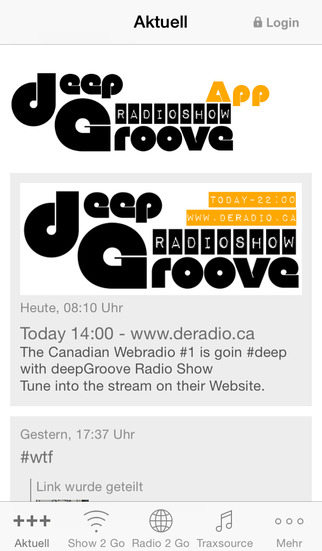 deepGroove Radio Show screenshot 1