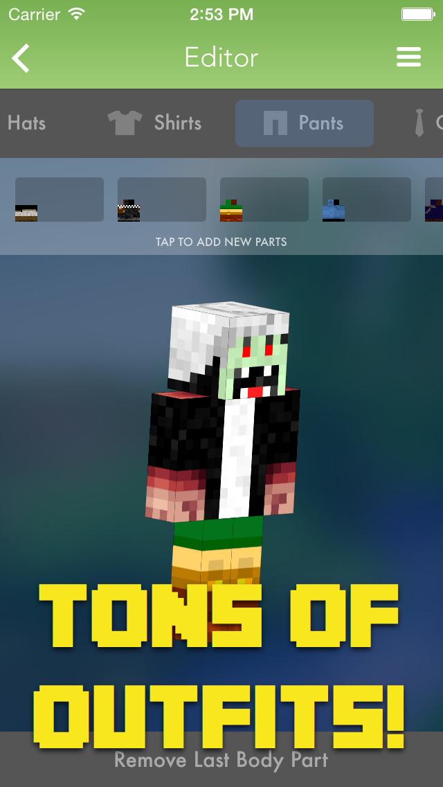 Million Skins for Minecraft PE screenshot 4