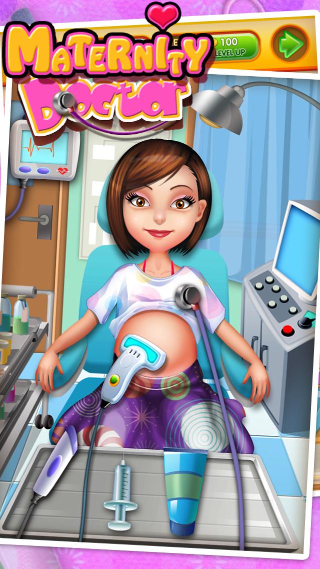 Little Newborn Baby Doctor - kids game & new baby screenshot 3