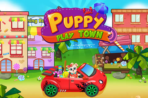 Little Puppy's Dream Town - Kids Play Mini Games - náhled