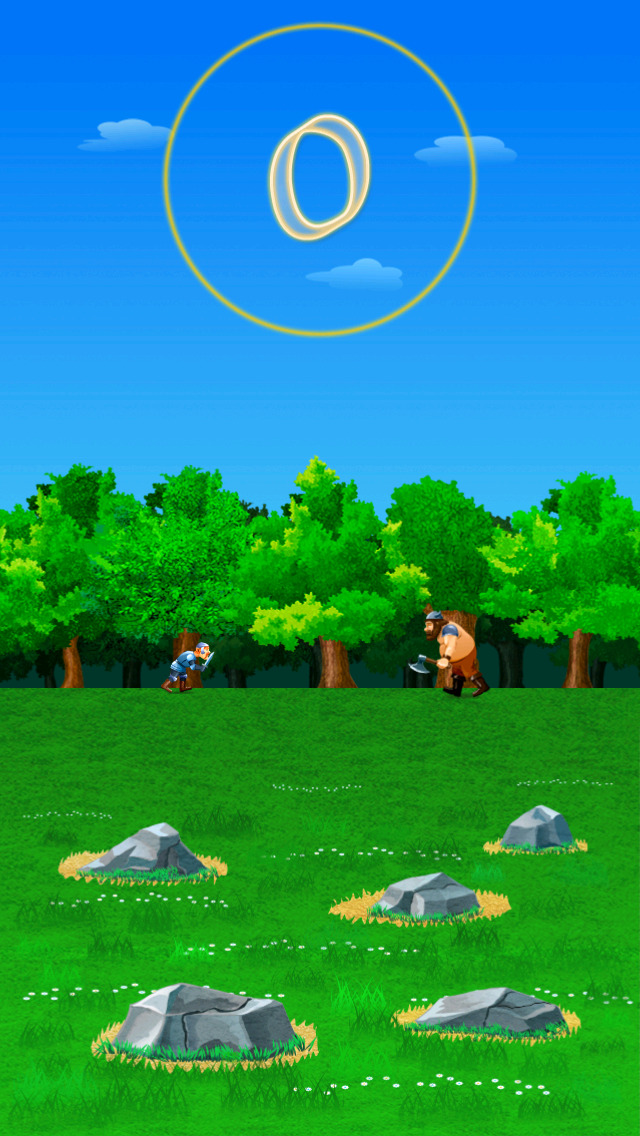 Warriors of The World Jump Rush screenshot 1