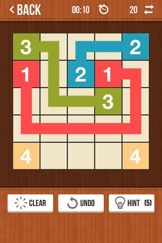Number Link Pro - Logic Path Board Game - náhled