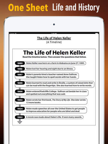 Helen Keller Biography and Quotes: Life with Documentary screenshot 7