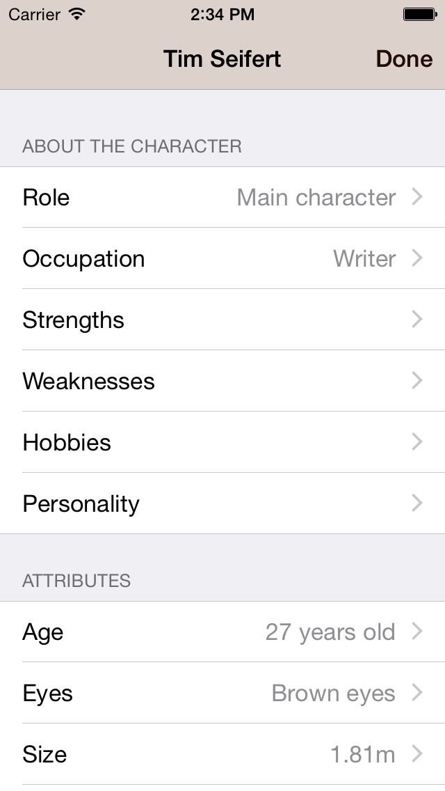Writing App - Take Notes, Write your Novel or Short Story, be an Author and Writer screenshot 5