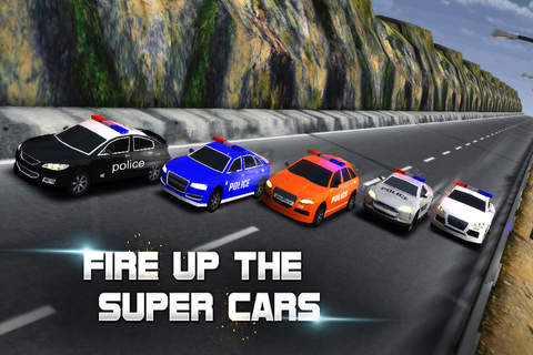 Racing Game : Police Racer - náhled