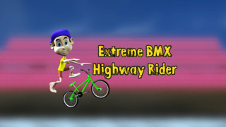 Extreme BMX Highway Rider - Cool speed street racing game screenshot 1
