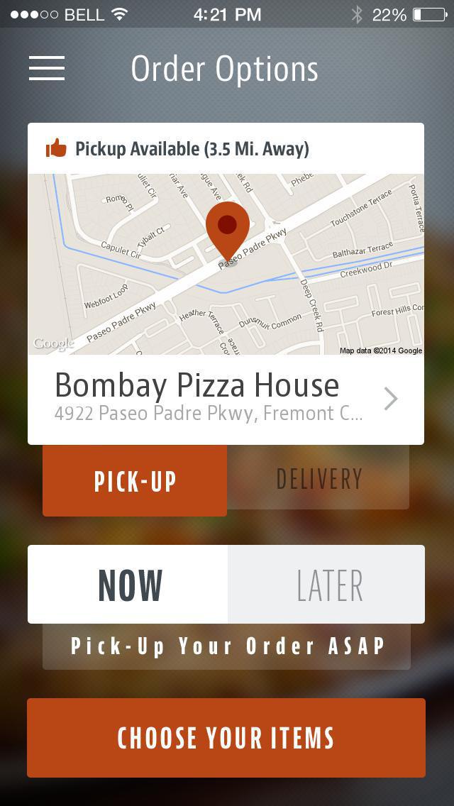 Bombay Pizza House Fremont screenshot 2