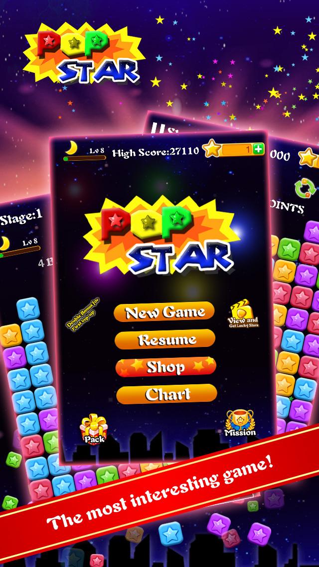 PopStar-Star Blast Puzzle Game screenshot 1
