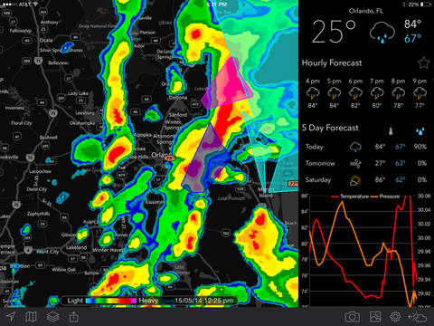 MyRadar NOAA Weather Radar Pro screenshot 8
