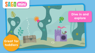 Sago Mini Ocean Swimmer screenshot 1