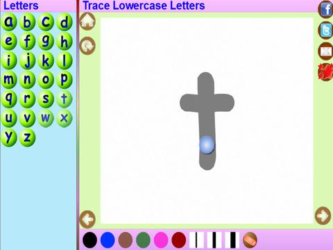 Trace Gujarati and English Alphabets Kids Activity screenshot 5