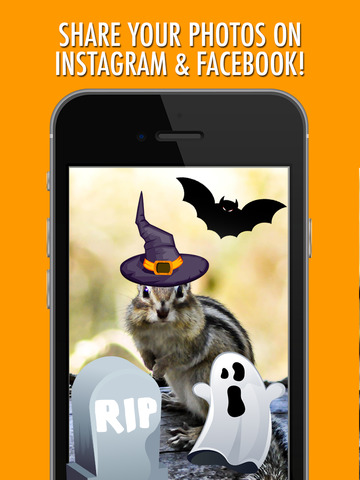 Halloween Picture Stickers: The Scary Photo Maker screenshot 4