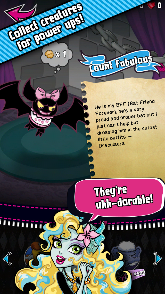 Monster High Ghouls and Jewels™ screenshot 3