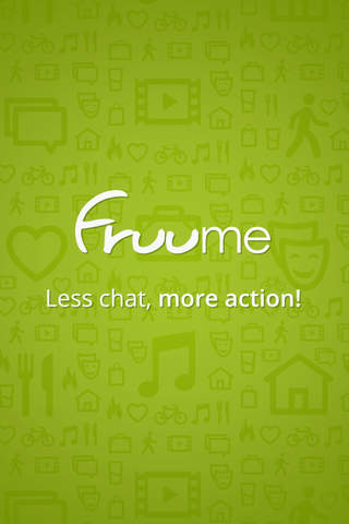Fruume - Social Network for Sociable People. Less  - náhled