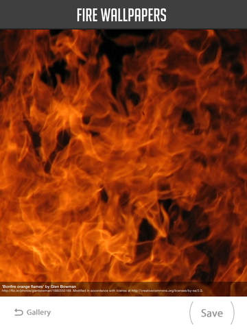 Fire Wallpaper screenshot 10