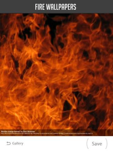 Fire Wallpaper screenshot 10