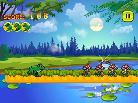 Froggy Jump Run - Free Frog Game screenshot 5