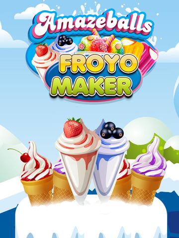 """ A AmazeBalls Candy Froyo Maker PRO – Customer Frozen Yogurt Creator screenshot 10"