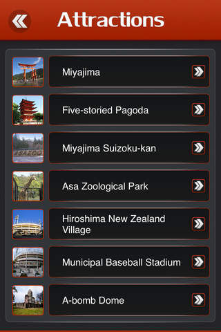 Hiroshima City Offline Travel Guide - náhled