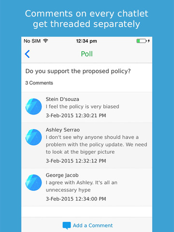 Teamchat- Enterprise Messaging for Large Teams screenshot 10
