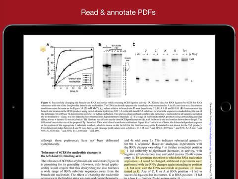 Mendeley (PDF Reader) screenshot 5