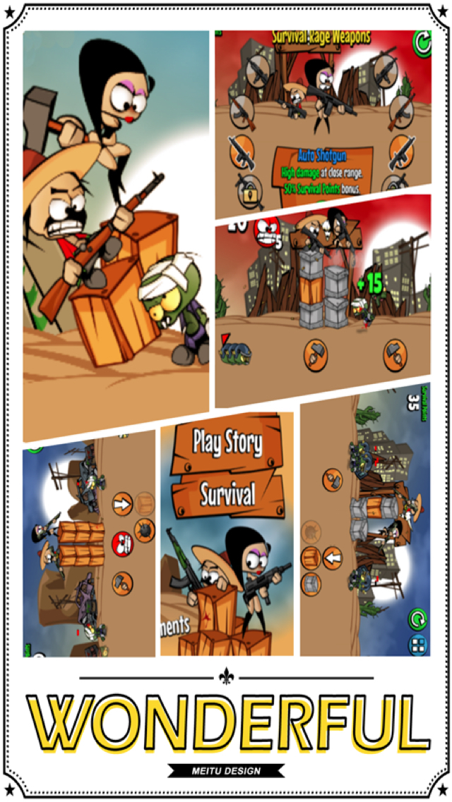 Zombies Fight screenshot 1