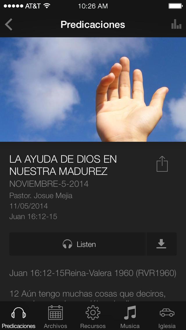 Biblia Reina Valera Estudios screenshot 3