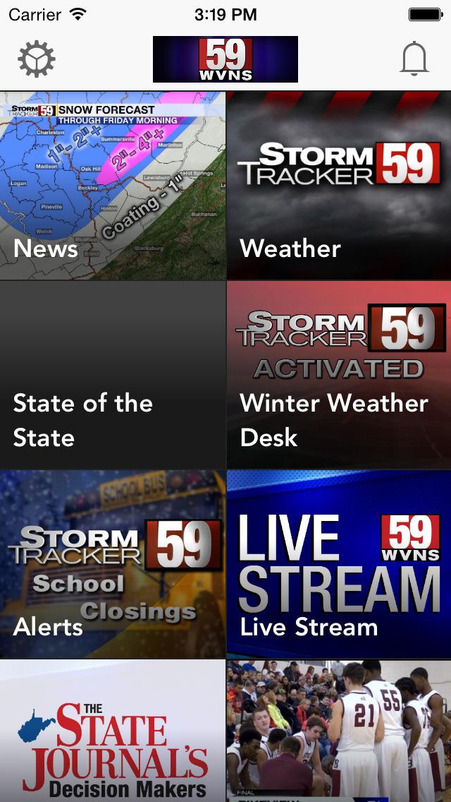 WVNS 59News screenshot 1