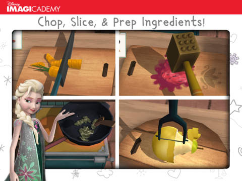 Frozen: Early Science – Cooking and Animal Care by Disney Imagicademy screenshot 7