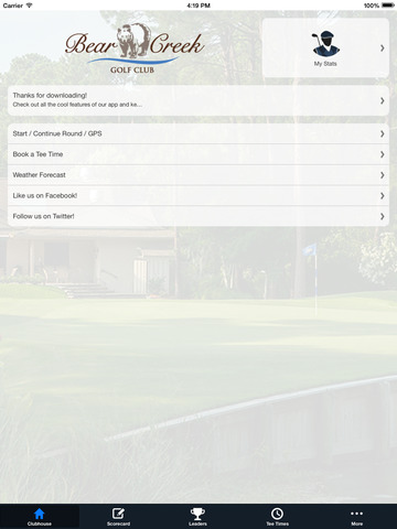 Bear Creek Golf Club SC screenshot 7