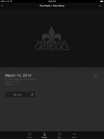 Ragin' Cajun Catholics screenshot 6