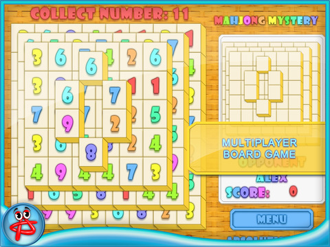 Mahjong Mystery: Case of Numbers screenshot 7