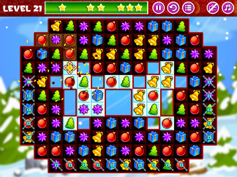 Christmas Sweeper - Relaxing Match-3 Puzzle Game screenshot 8