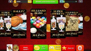Perfect Slots Ultra Plus - Modern House of Dark Spades Cards screenshot 2