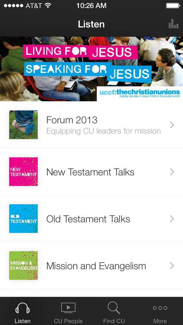 UCCF: The Christian Unions screenshot 1