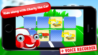 Free Memo Game Transport Cartoon screenshot 1