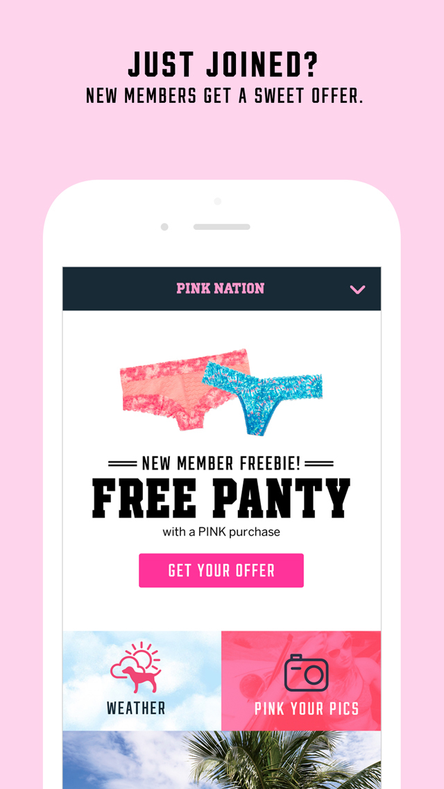 PINK Nation screenshot 1