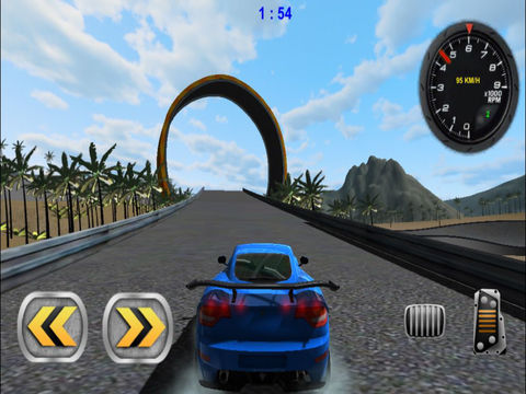 3D Stunt Car Race - eXtreme Racing Stunts Cars Driving Drift Games screenshot 9